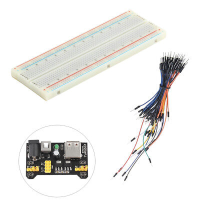 MB-102 Breadboard Protoboard 830 Tie Points 2 buses Test Circuit