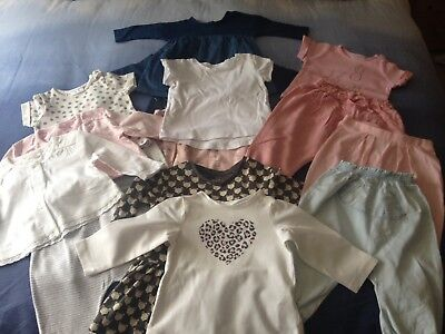 Next Baby Bundle Dresses Trousers Tops T Shirts 0-9 Months
