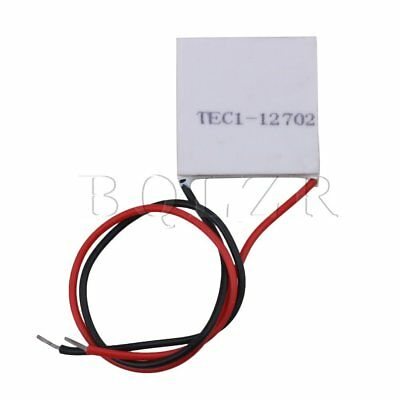 2.5cmx2.5cm White TEC1-12702 15.5V 2A Thermoelectric Cooler Peltier