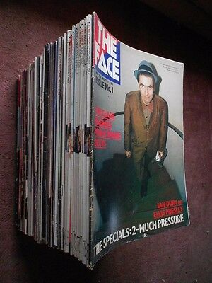 The Face Magazine, issues 1-81 complete - The style Bible of the 80s.