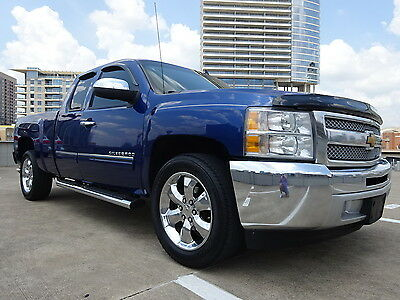 "2013 Chevrolet Silverado 1500 LS 2013 CHEVY SILVERADO 1500 V8 2WD AUTO EXT.CAB 20'""CHROME WARRANTY DRIVES GREAT"