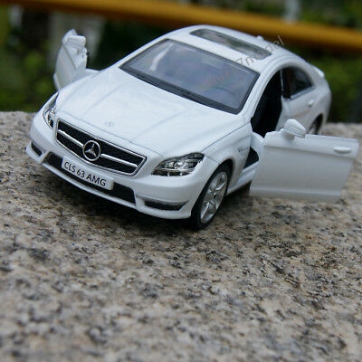 "Mercedes-Benz CLS63 AMG(C218) Model Cars 1:36 5"" Toys Gifts Alloy Diecast White"