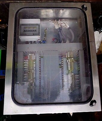 PLC Control Panel Stainless Steel with Window