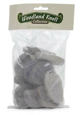 My Fairy Gardens Mini - Polished Flat Forest Stones - Supplies Accessories