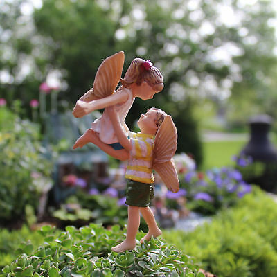 "4"" My Fairy Gardens Mini Figure Pick - Time to Fly - Children Miniature Figurine"