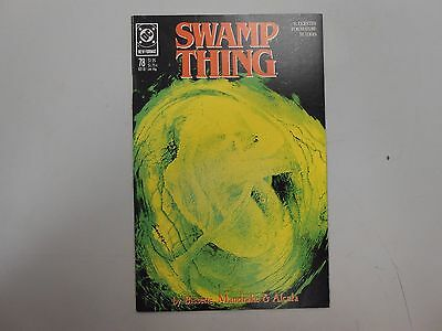Swamp Thing #78! (1988, DC)! VF/NM9.0+! Copper age DC genius! CHECK IT OUT!