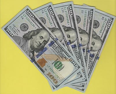 2009A  Federal Reserve **star** Note One Hundred Dollar Bills...$100