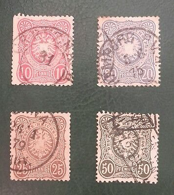 Germany Empire 1875 X 4 Issues