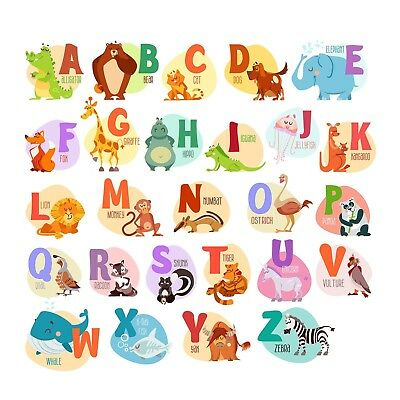 Giant Wall Decals for Kids Rooms, Nursery, Baby, Boys Girls Bedroom Peel Stick,
