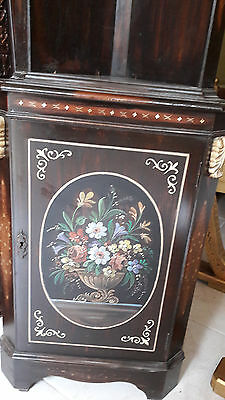 OPEN2OFFER -Unique & Large-Grand Corner Cabinet-Solid Rosewood-French polished