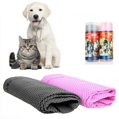 Pet Cat Puppy Drying Towel Ultra-absorbent Dog Bath Shower Cleaning Towel