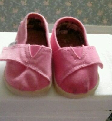 Toms infant-one for one-shoes pink T3