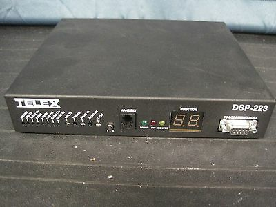 TELEX TONE REMOTE ADAPTOR DSP-223 Radio Dispatch