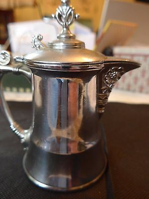 Pairpoint Silver Plate Syrup/Creamer # 1702