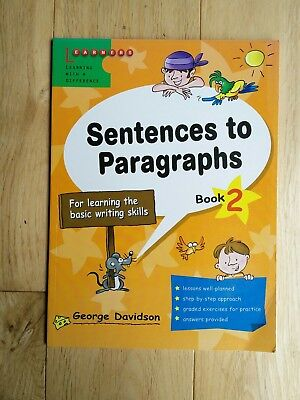 Sentences to Paragraphs: Book 2 by Learners Publishing Pte Ltd (Paperback, 2005)