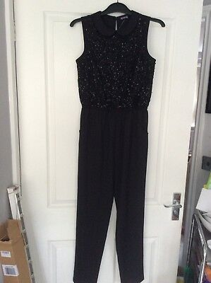 Girls Party Jumpsuit Age 12-13 Years Bnwt