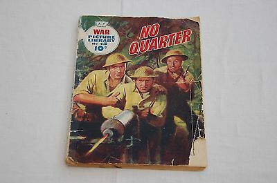 """1959 Edition War Picture Library Number 15 """"No Quarter"""" Cost 10d - 58 Years Old!"""