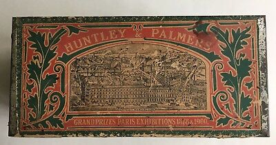 English Huntley & Palmers Breakfast Biscuit Tin