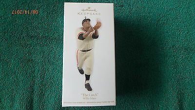 "Hallmark Ornament  2012 ""THE CATCH"" WILLIE MAYS"
