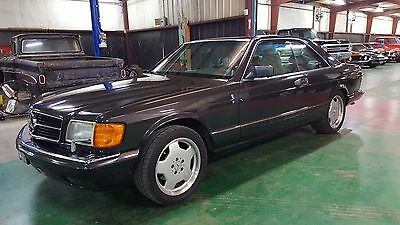 1989 Mercedes-Benz 500-Series 560 SEC Coupe 1989 Mercedes 560sec Coupe Rare Must See Priced to Sell