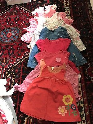 Baby girls clothes large bundle 0-12 month