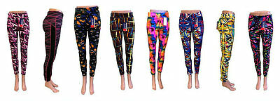 Ladies Activewear Leggings Assorted Colors/Designs Wholesale Price (Lot of 36)