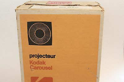 Vintage Kodak 650H Carousel Slide Projector in Original Box