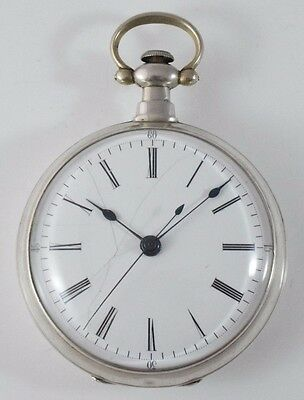 Antique English, Chinese Style Lever Pocket Watch Made for Chinese Market c.1850