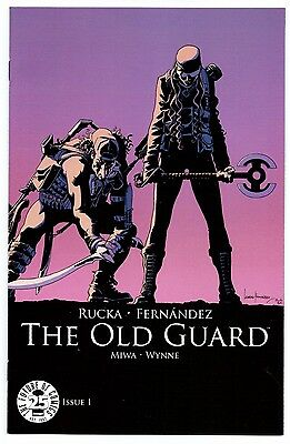 THE OLD GUARD #1 NM! COLOR VARIANT COVER IMAGE 25th ANNIVERSARY RARE BLIND BOX