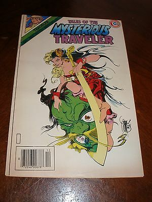 Tales of the Mysterious Traveler 15 Dec 1985 vf Copper age Charlton comic