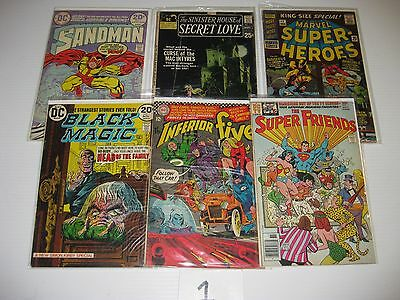 huge lot of #1 issues from silver age and bronze age