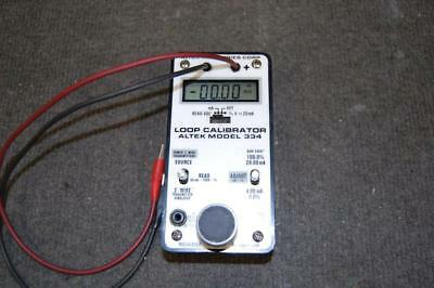 Altek model 334 loop Calibrator