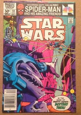 Star Wars Comic Issue 54