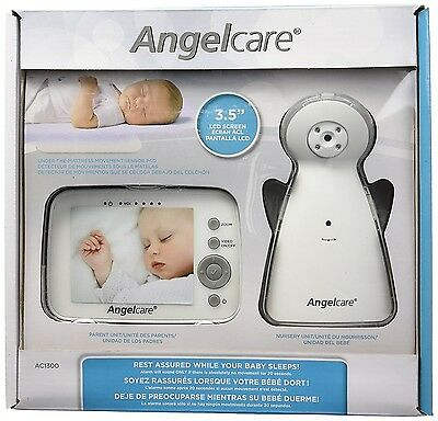 Angelcare 3.5 inch Movement Video and Sound Monitor - AC1300 Baby Sensor Panel
