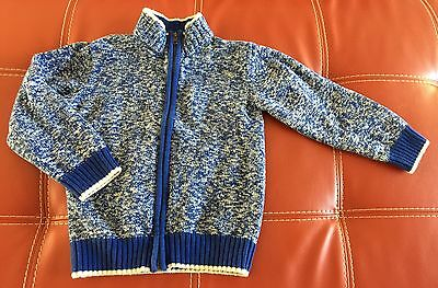 Gymboree Boys Sweater, Pullover Cardigan Size S (5-6), Zip, Kids Tops