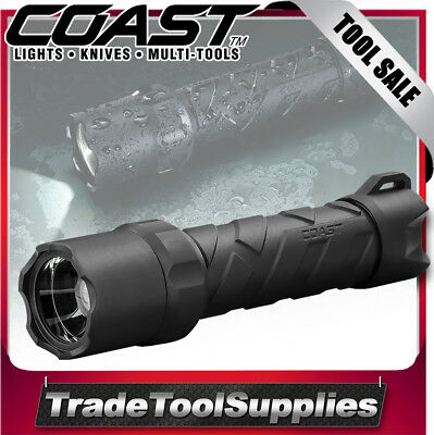 Coast LED Torch Flashlight 620 Lumens Polysteel Better Than MAGLITE COAPS600