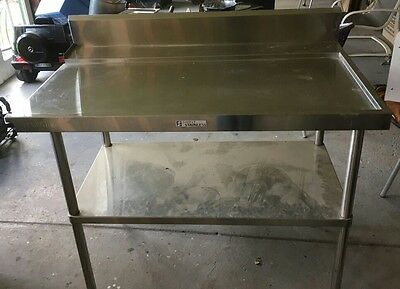 1200 x 900 Stainless Steel Bench