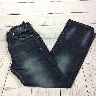 PD&C Kids Boys Denim Dark Blue Jeans Pants Relaxed Casual Size 10 Cute NEW