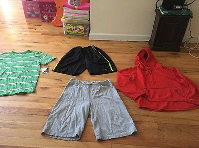 Lot Of 4 Boys Items Sz XL 14 Gap, Children's Place  For Summer Camp!