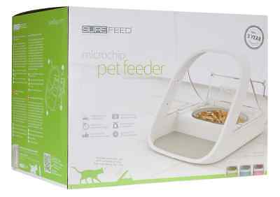 NEW SureFeed Microchip Pet Feeder Cat Bowl - Stop wasting food & keep fresh 5*
