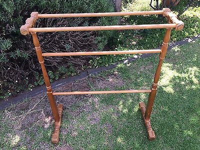 Antique Pine Towel Rail