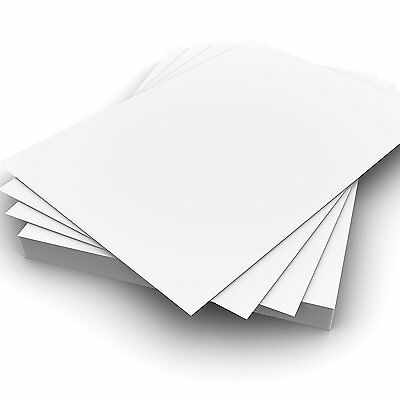 100 Sheets A4 160gsm White Card - Premium Thick Printing Paper for All Printers