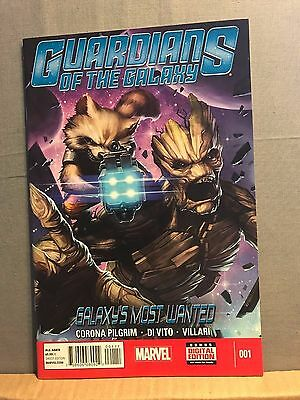 Guardians of the Galaxy: Galaxy's Most Wanted # 1 (Sep 2014, Marvel) VF/NM