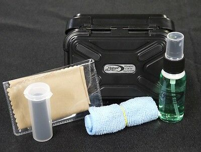 Helmet Butler Vision Care System - Motorcycle helmet visor cleaning kit