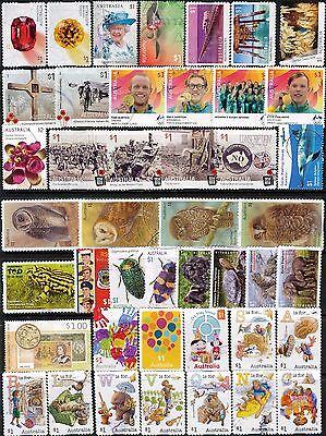 Australian Stamps $1.00 2016-2017 Finely Used Recent/Bulk
