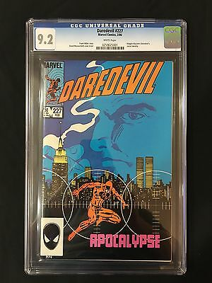 Daredevil #227 CGC 9.2 - Kingpin discovers Daredevil's secret identity