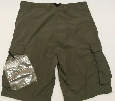 BOY SCOUTS OF AMERICA CENTENNIAL  Cargo SHORTS ADULT Small  waterproof pouch 30