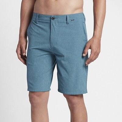 Hurley Phantom Boardwalk Hybrid Shorts-Smokey Blue - 30