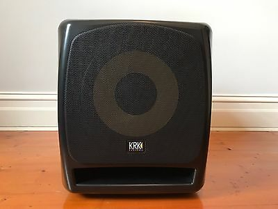 "KRK 12S 12"" Powered Studio Subwoofer"