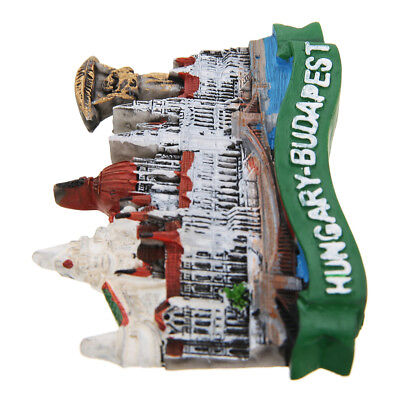 New Hungary Budapest Parliament Building Fridge Magnet Craft Tourist Souvenir